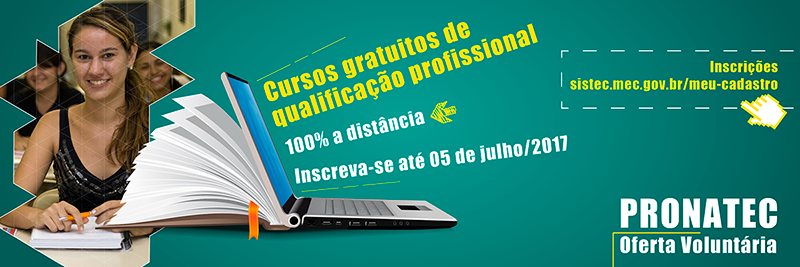 Pronatec Oferta Voluntaria 2017